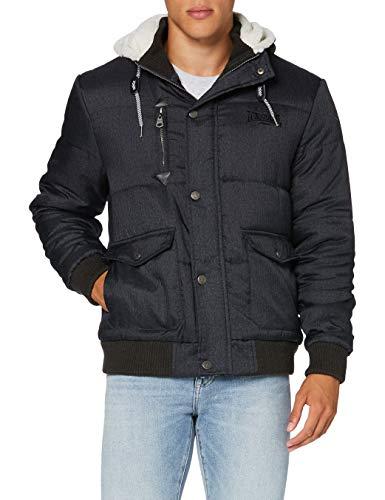 Lonsdale London Herren Fox Hill Jacket, Grau, M