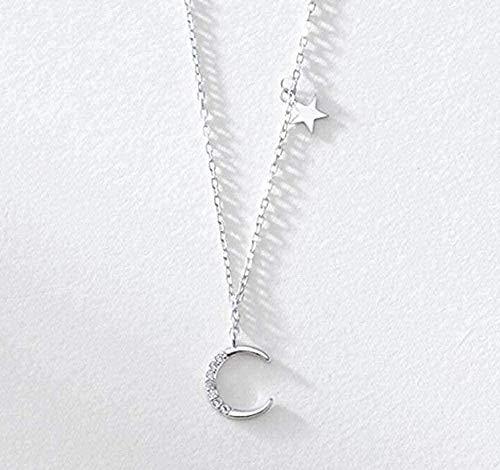 ZJJLWL Co., ltd Collar Romantic Moon Micro- Set Collar Trend