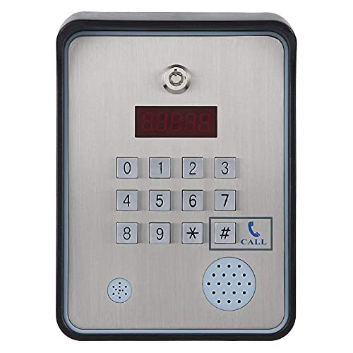 Controlador de Acceso de intercomunicador de Audio gsm Caja de casa gsm con Llamada Gratuita para Puerta Abierta