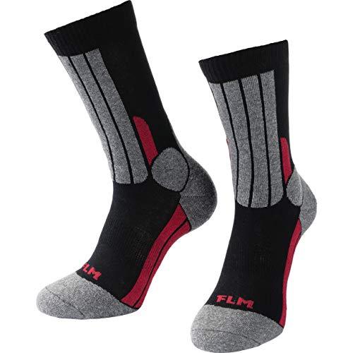 FLM Socken Tour Socke 1.0 schwarz 36-40, Unisex, Tourer, Ganzjährig, Textil