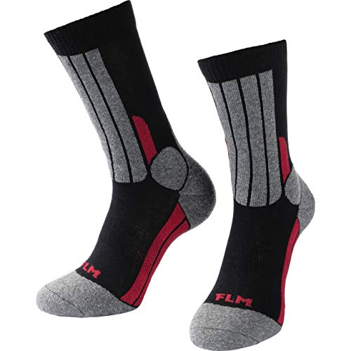 FLM Socken Tour Socke 1.0 schwarz 41-45, Unisex, Tourer, Ganzjährig, Textil