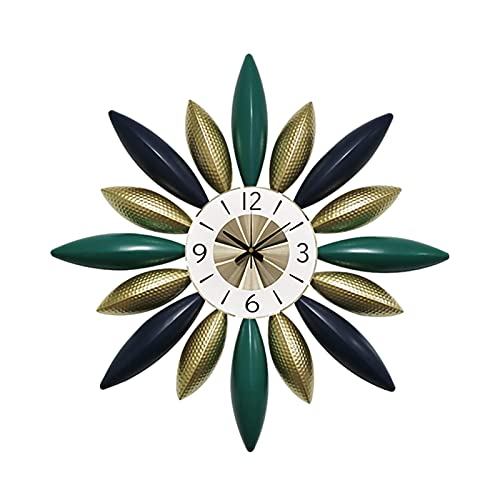 Peakfeng Moderno Minimalista Sala de Estar Reloj de Pared Pared Colgando hogar Dormitorio Mudo Pared Reloj decoración de Pared Reloj Creativo
