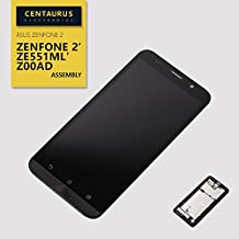 Replacement for 5.5 Asus Zenfone 2 ZE551ML Z00A LCD Display Touch Screen Digitizer Frame Black USA