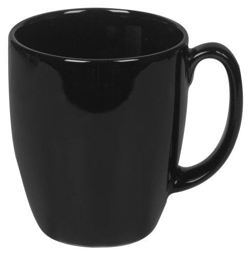 Corelle Livingware 11-oz Black Stoneware Mug