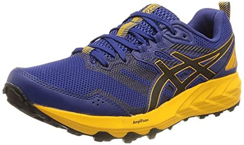 Asics Gel-Sonoma 6, Zapatillas para Carreras de montaña Hombre, Monaco Blue/Black, 44 EU