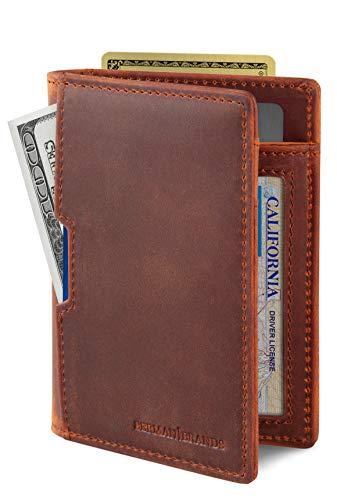 SERMAN BRANDS - Wallets for Men Slim...