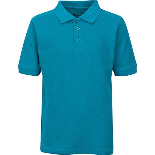 Boys Uniform Polo Shirt Teal XL 18/20