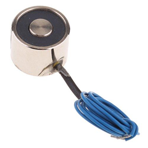 Mini-Gleichstrom-Elektromagnet mit Spule für Förderer, Sortiermaschine, Mechanischer Arm - DC12V 25N