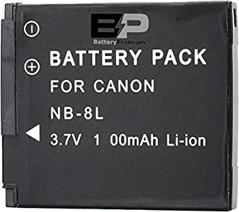 BP NB-8L Replacement Canon Battery for Canon PowerShot A2200 is A3000 is A3100 is A3200 is A3300 is Digital Camera Battery