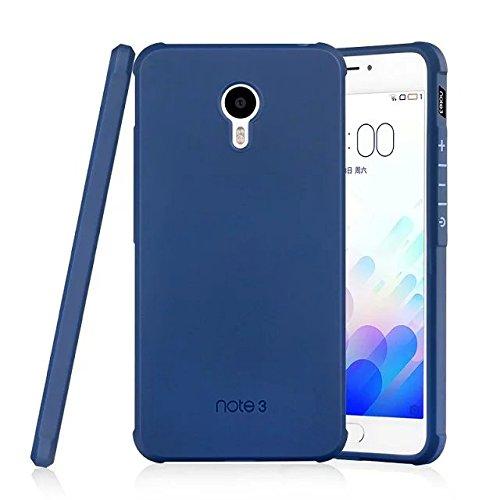 SMTR Meizu M3 note Hülle mit Silikon TPU Material & Farblich Muster Schutzhülle Handytasche für Meizu M3 note -Blau