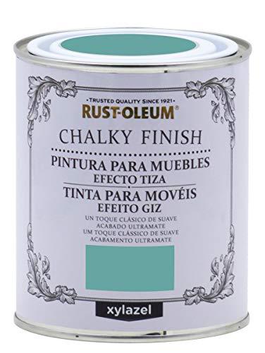 Rust-Oleum Chalky Finish Turquesa 125 ML BRUGUER, Negro
