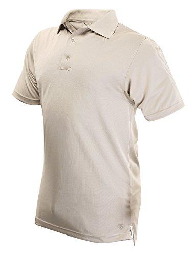 Tru-Spec Performance Herren 24–7Polyester Short Sleeve Polo Shirt, Herren, Silver Tan, XXX-Large