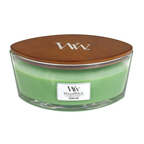 Woodwick Line Basic Elipse kaars, glas, 11,4 x 18,7 x 8,8 cm
