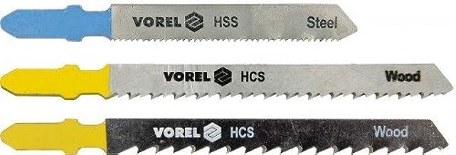 VOREL 27810 - sierra de calar Hojas de Bosch/madera / 5pcs