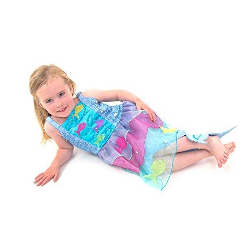 Déguisement enfant - Robe de Sirène tropicale (3-4 ans) - Lucy Locket