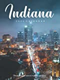 """Indiana 2022 Calendar: From January 2022 to December 2022 - Super Mini Calendar 6x8"""" - Pocket Gorgeous Non-Glossy Paper"""