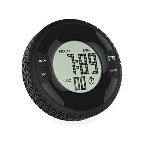 2REMISE Reifen-Timer Digitalanzeige Positive Und Negative Countdown-Wecker Küche Runde Silikon Uhr Elektronische Zeitschaltuhr