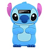 Blue Stch Case for Samsung Galaxy S10 Plus, 3D Cartoon Animal Cute Soft Silicone Rubber Protective Kawaii Funny Character Cover,Animated Fun Cool Skin Cases for Kids Teens Girls Guys (Samsung S10Plus)