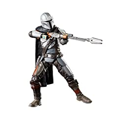 THE MANDALORIAN: The Mandalorian is battle-worn and tight-lipped, a formidable bounty hunter in an increasingly dangerous galaxy VINTAGE-INSPIRED PACKAGING: Star Wars The Vintage Collection 3.75-inch-scale classic Star Wars figures feature original K...