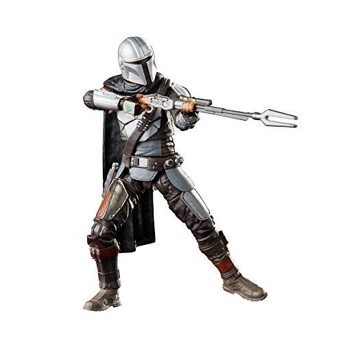 Hasbro Star Wars Black Series- Star_Wars Action Figure The Mandalorian con Accessori, F1095
