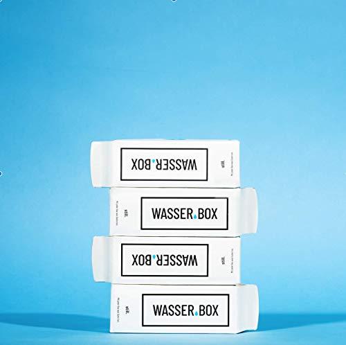 WasserBox Naturell | Stilles Wasser ohne Kohlensäure | ideal für unterwegs | 12er Pack | PFANDFREI (12 x 0,5 l im Karton)…