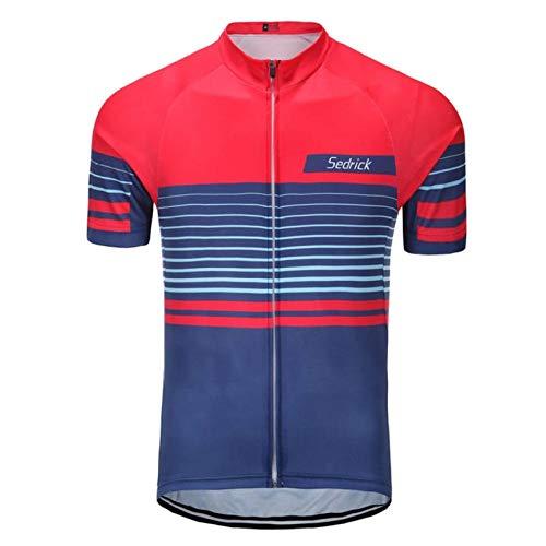CHFYG - Maillot de ciclismo de manga corta para ciclismo de carretera,...
