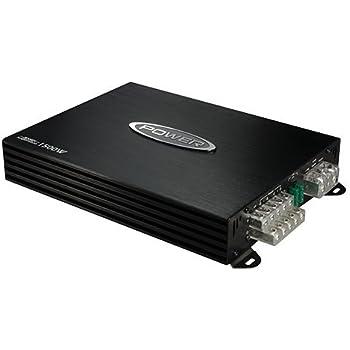 Jensen Power 760x5D Multi Channel Car Amplifier with 1,500 Watt Peak Performance