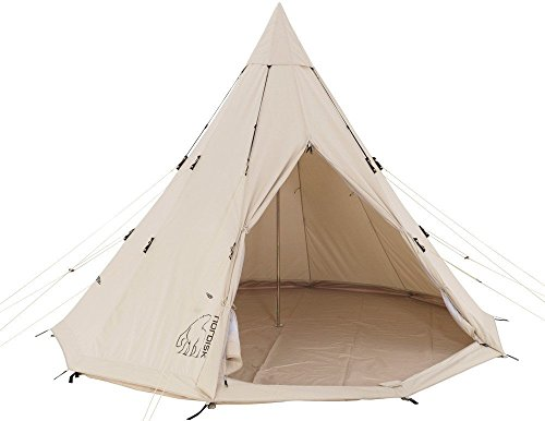 [Nordisk] ノルディスク アルフェイム 12.6 ティーピーテント Alfheim Basic Tent (Sioux) 142013 (フロア...