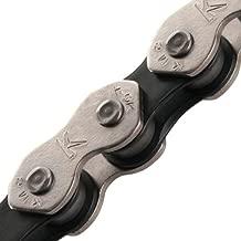 KMC K710 Kool Bicycle Chain (1-Speed, 1/2 x 1/8-Inch, 112L, Silver/Black)