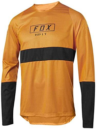 LuggageZHY Maillot MTB Fuchs Jersey Men's Downhill Motocross Jersey Bike MTB MX Mountain Biking Shirt Racing XL