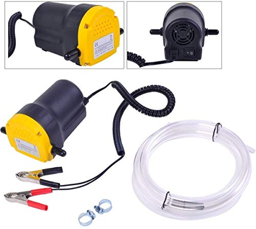 YaeTek Excellent 12v Motor Oil Diesel Extractor Scavenge Suction Transfer Change Pump