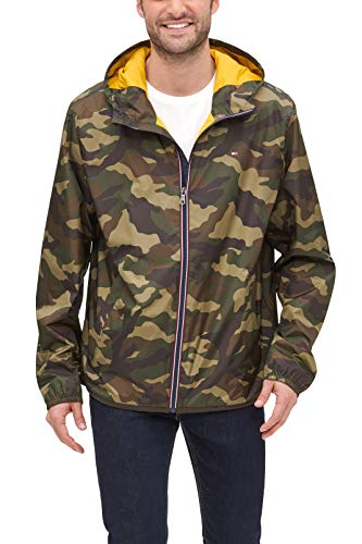 Hooded Camo Jackets for Men