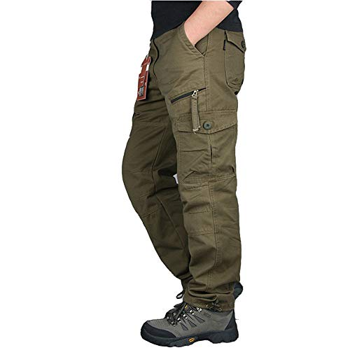 Waistcoats Men's Outdoor Scratch-Resistant Tactical Pants Lightweight Outdoor Cargo Pants Work Trousers