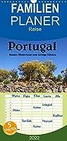Portugal Buntes Hinterland und farbige Kuesten - Familienplaner hoch (Wandkalender 2022 , 21 cm x 45 cm, hoch): Farbenfrohes Land im Sueden (Monatskalender, 14 Seiten )