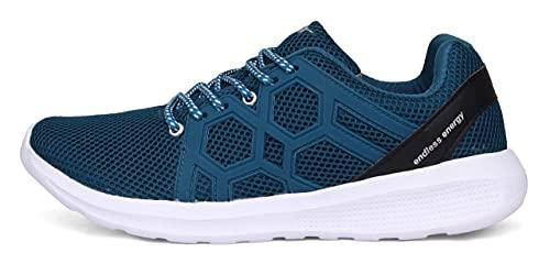 Sparx Men's T. Blue Silver Running Shoes - 8 UK (42 EU) (SX0421G)
