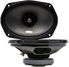 Audio Legion ME69B 6x9 400 Watt Midrange Speakers - High Clarity and Maximum Output Loudspeakers - Durable Steel Pro Audio... photo