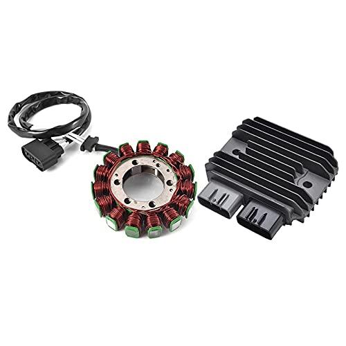 Regulador de la motocicleta rectificador y generador de bobina del estator magneto para Kawasaki ZX6R ZX-6R 2009 2010 2011 2012 2013 2014 2014