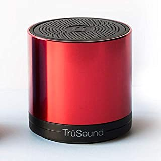 Advanced TruSound Audio T2 Portable Bluetooth Wireless Speaker, Speakerphone | Loud, Crystal Clear 360 Degree Stereo Sound | Noise & Echo Cancelling Microphone | Hands-Free Call | 1000hz @80db, Pink
