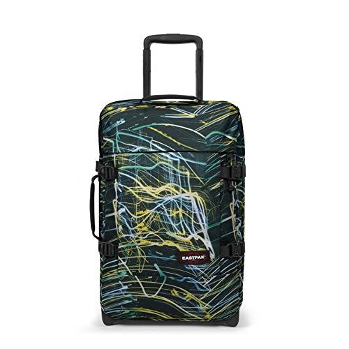 Eastpak Tranverz S Bagaglio a mano, 51 cm, 42 L, Multicolore (Blurred Lines)
