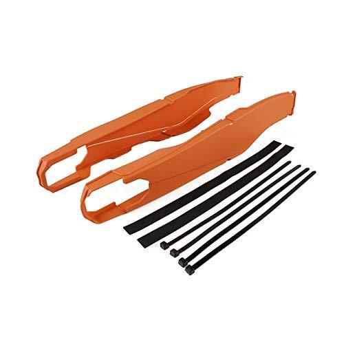 LuckyMAO Cubierta y molduras Oscilación basculante Arm Protector Fit for KTM SXF XCF SXF XCF 250 350 450 2013-2020 SX XC 125 150 250 300 2020 2019 2018 2017 2016 2015 (Color : Orange)
