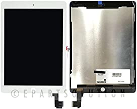 ePartSolution_Replacement Part for iPad Air 2 A1566 A1567 LCD Display Touch Screen Digitizer Glass Assembly USA (White)