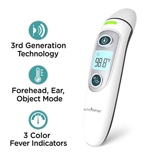 HealthSense Accu-Scan Thermometer