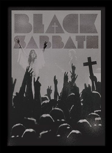 Pyramid International FP10802P-PL Black Sabbath - Póster con Marco