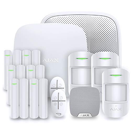 AJAX KIT-5W Alarma para casa, Blanco