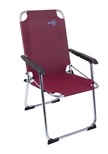 Bo-Camp-Stuhl Copa Rio Folding Ruby