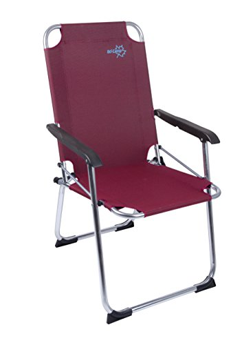 Bo-Camp-Stuhl Copa Rio Folding Ruby