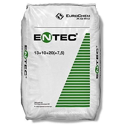 Suinga ABONO Fertilizante ENTEC Nitrofoska 20+10+10. 25 Kilos. Recomendado para OLIVOS. Inhibidor...