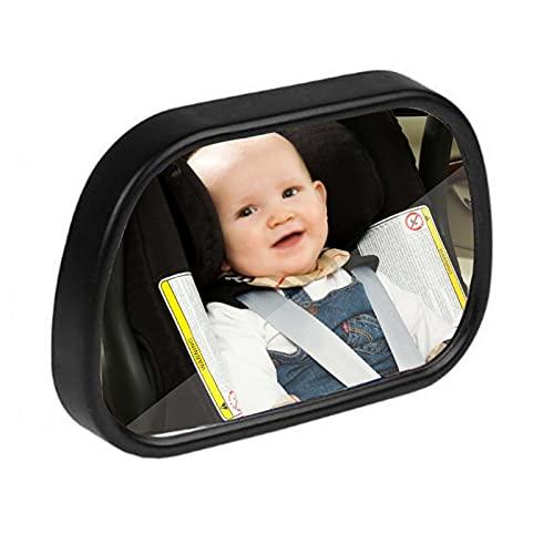 Espejo De Coche Ajustable para Bebé, Asiento Trasero De Coche, Vista De Seguridad, Frente A La Sala Trasera, Interior del Coche, Espejo De Asientos Inversos para Bebés Y Niños