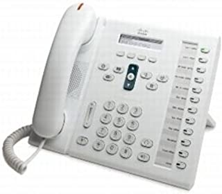 Cisco CP-6961-W-K9= Unified IP Standard Handset Phone, White