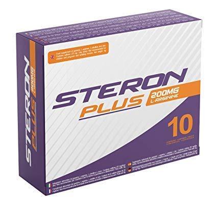 Steron Plus 200mg 10 Kompressen | Maximale Sofortkraft, Verlängerte Wirkung, Ohne Nebenwirkungen, 100% Natürlich